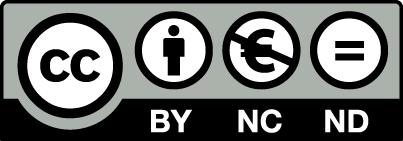 Creative Commons Reconocimiento NoComercial SinObraDerivada 3.0 Licencia